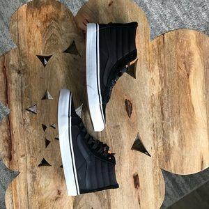 Vans black Sk8-Hi - NWOT